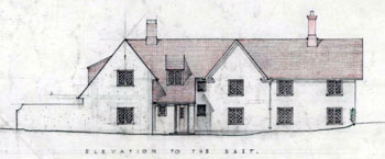 Parsonage Piece east elevation 1944