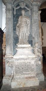 Sir Samuel Ongleys monument in Old Warden church July 2007