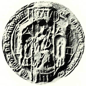 Warden Abbey great seal