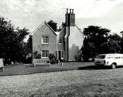 exterior side of Old Vicarage 1981