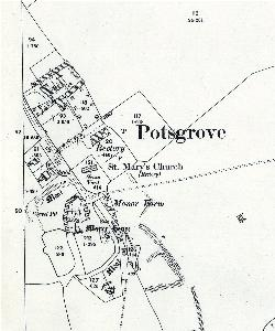 The eastern part of Potsgrove in 1901