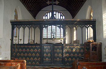 The rood screen February 2012