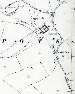 The western part of Potsgrove in 1901