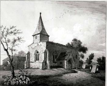 The church about 1820 [Z103/1]