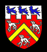 The Burgoyne family coat of arms