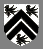 The Tanfield family coat of arms