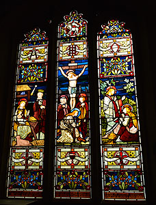 The eastern most window in the south aisle February 2013