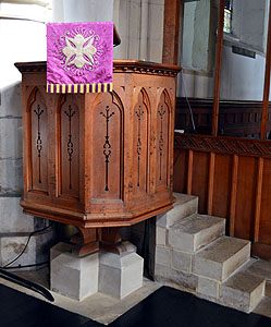 The pulpit February 2013