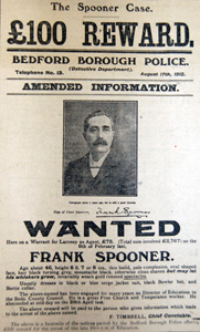 Frank Spooner wanted poster