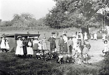 Baptist Sunday School Treat about 1910 by Jack Sharp [Z49/984]