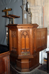 The pulpit January 2011