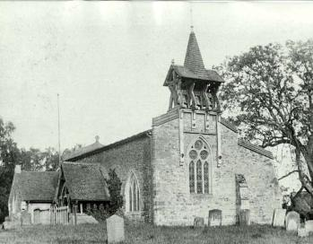 Salford church about 1900 [Z50/98/17]