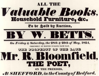 Bloomfield sale poster