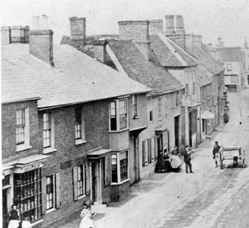 Kings Arms about 1870