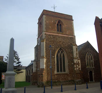Saint Michael and All Angels from west January 2008