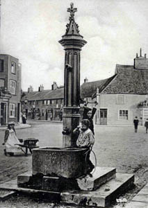 Shefford Pump about 1900