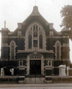 Wesleyan chapel about 1912