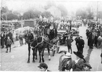 Shefford Fire Brigade about 1925