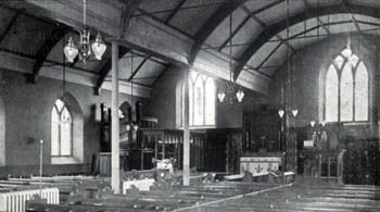 church interior in 1907 before alterations Z96-2