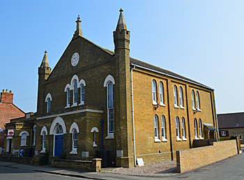 The Wesleyan Methodist chapel April 2015