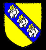 The arms of Ramsey Abbey