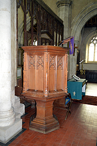 The pulpit March 2014