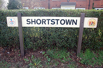 Shortstown sign March 2011