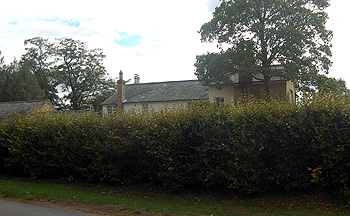 The Old Vicarage seen from Ampthill Road October 2011