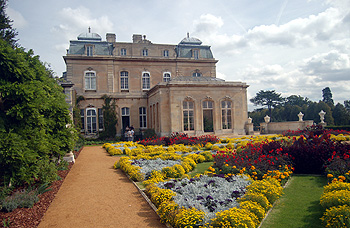 The west front seen across the Italian Garden September 2011