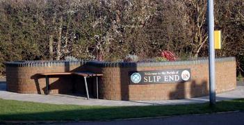 Slip End sign March 2007