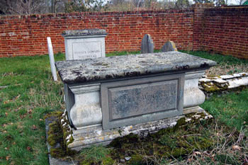 graves of Samuel Whitbread died 1915 and Samuel Howard Whitbread March 2008