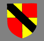 The arms of the Barony of Bedford