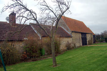 outbuildings at Bakers Barn December 2007