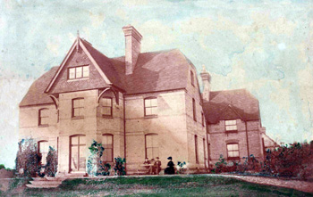 Stanbridge Vicarage about 1875