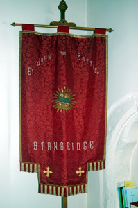 The parish banner December 2008