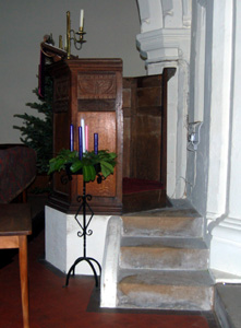 The pulpit December 2008