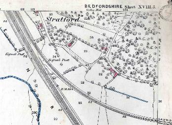 The southern part of Stratford in 1884