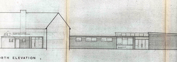 Elevation showing additions to Studham County Primary School 1955 [P86/29/2]