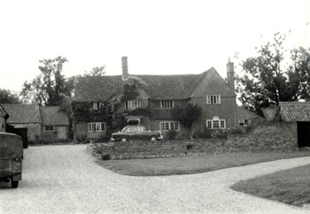 Moat Farmhouse in 1961