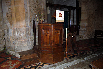 The pulpit September 2011