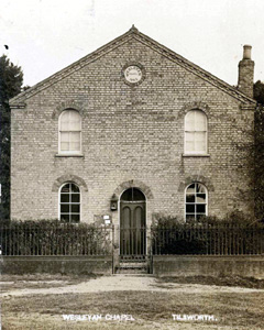 The Wesleyan Chapel about 1920