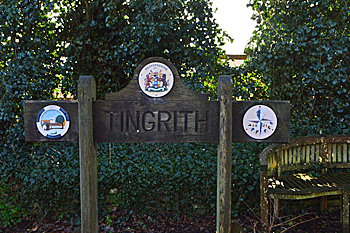 Tingrith sign February 2016