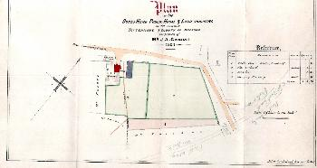 Plan of the Dukes Head and surrounding area in 1862 [Z172-8]