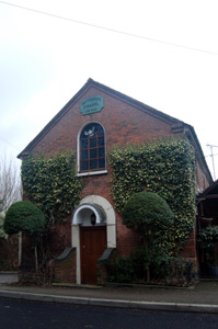 The former Wesleyan Methodist Chapel February 2010