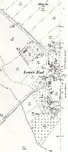 The western part of Lower End in 1901