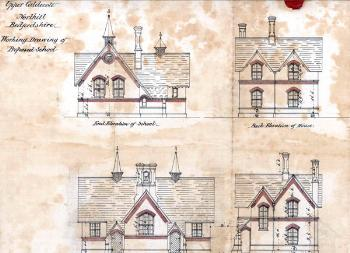 Elevations of the national school [AD3865/31/3]
