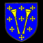 The Trumpington family coat of arms