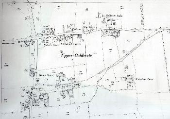 The western part of Upper Caldecote in 1901