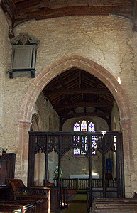 The chancel arch May 2011