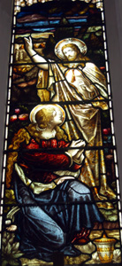 Christ and Mary Magdalene from the east window February 2010